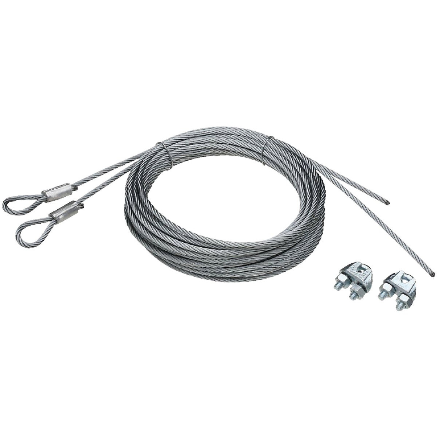 National 5/32 In. Dia. x 14 Ft. L. Commercial Garage Door Heavy-Duty Extension Cable (2 Count) Image 1
