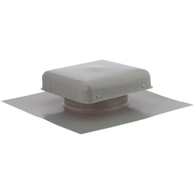 "NorWesco 7-3/4"" Galvanized Steel Grey Static Roof Mount Attic Vent"