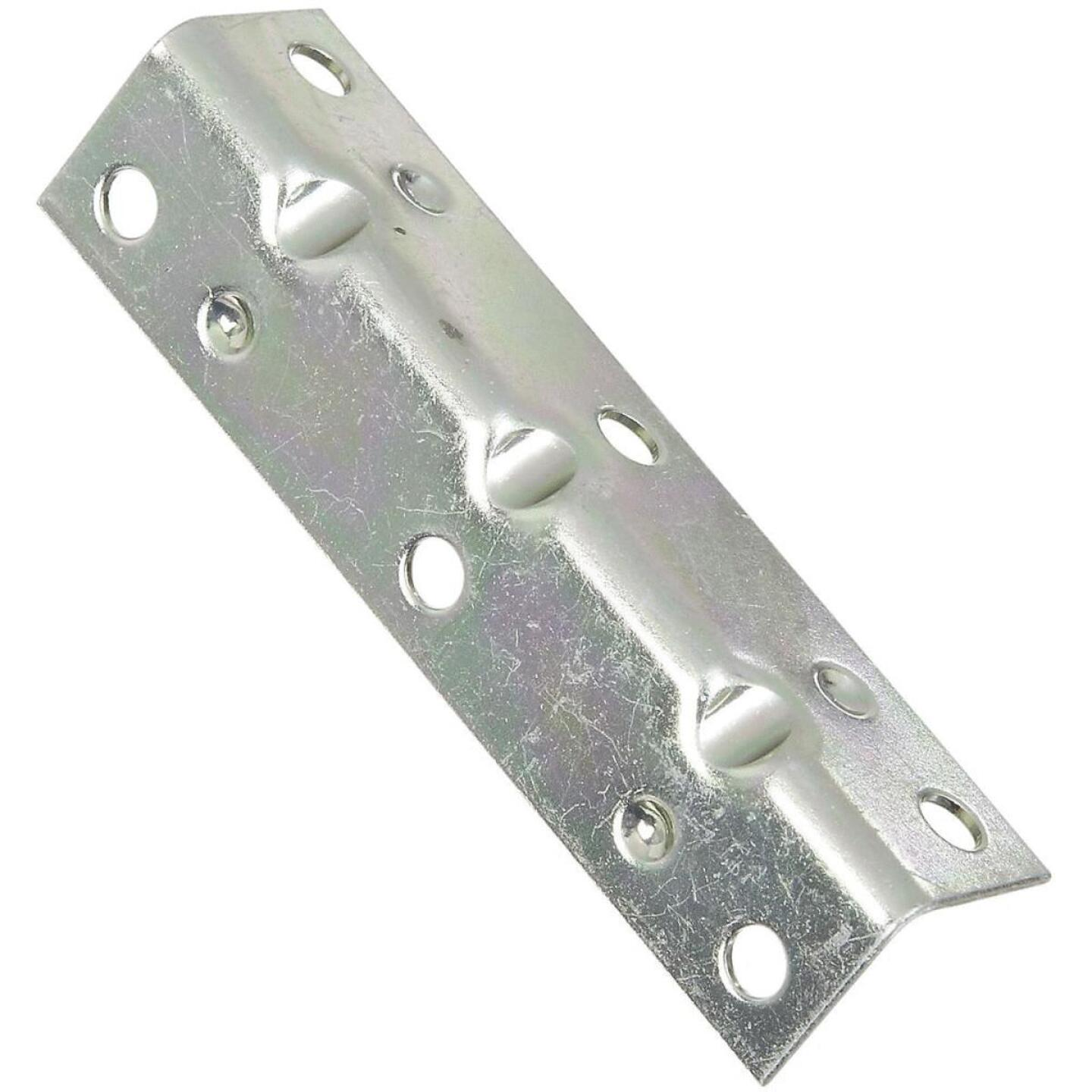 National Catalog V113 Series 3-1/2 In. x 3/4 In. Zinc Corner Brace (4-Count) Image 1