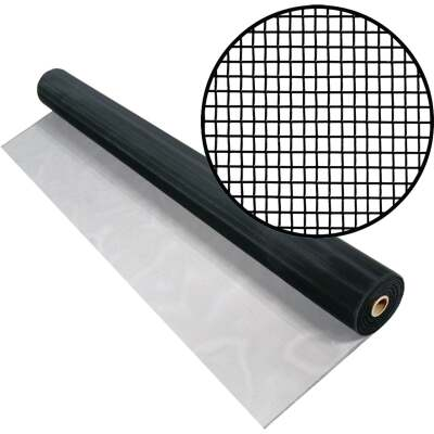 Phifer 60 In. x 100 Ft. Charcoal Aluminum Screen