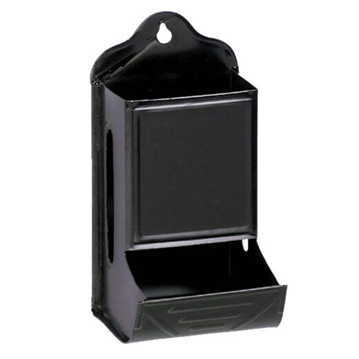 Fulton Black Fireplace Match Box
