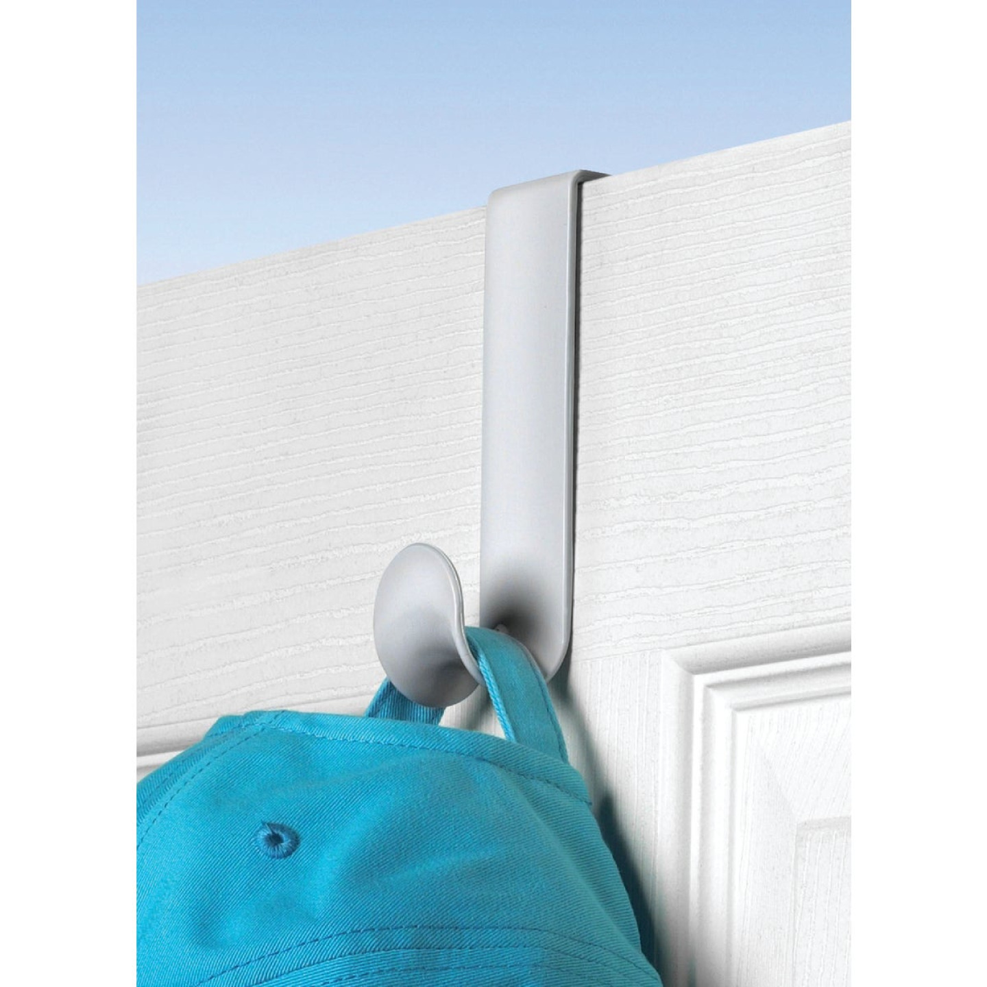 Spectrum White Plastic Over-The-Door Hook 4-3/4 In. Image 1