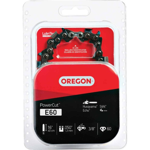 Oregon PowerCut E60 16 In. Chainsaw Chain