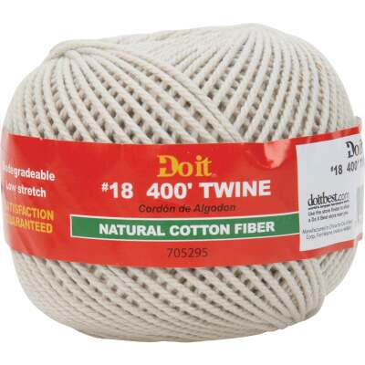 Do it #18 x 400 Ft. Natural Cotton Twine