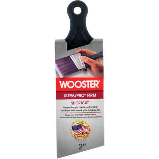 Wooster Ultra/Pro 2 In. Firm Shortcut Angle Sash Paint Brush