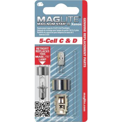 Maglite Xenon 6V Replacement Flashlight Bulb