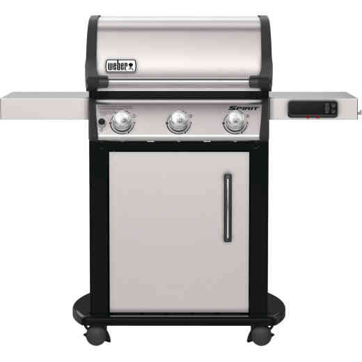 Weber Spirit II Smart Grill SX-315 3-Burner Stainless Steel 32,000 BTU LP Gas Grill